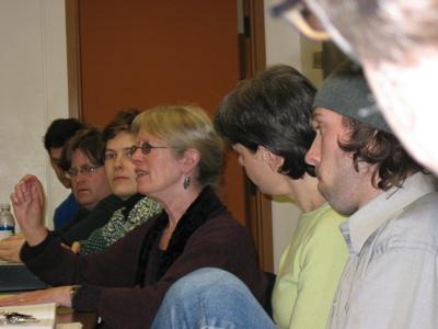 Lyn Hejinian visits UMaine graduate seminar