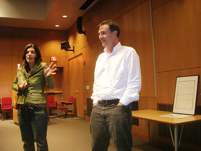 Silvana Costa and David Kress after NWS Event
