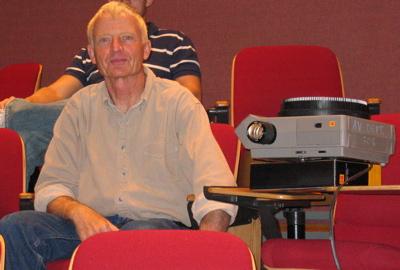 Poet Robert Grenier in the UMaine New Writing Series, Fall 2006