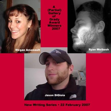 Three Winners of Steve Grady Prize2007
