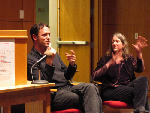 Poets Jonathan Skinner and Annie Finch discuss theirwork