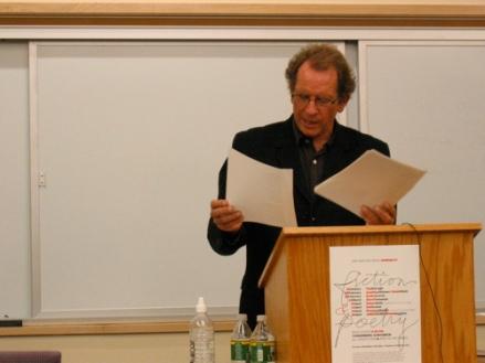 Poet Michael Davidson reading at UMaine