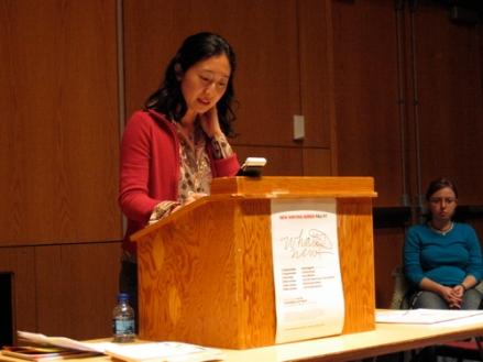 Sawako Nakayasu reads in the UMaine New WritingSeries