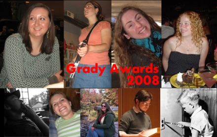 Grady Award Winners S08 Collage