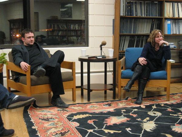 Writers Catherine Taylor and Stephen Cope discuss their work at UMaine