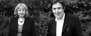 Poets Geraldine Monk & Alan Halsey