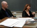 Poets Richard Deming and Nancy Kuhl