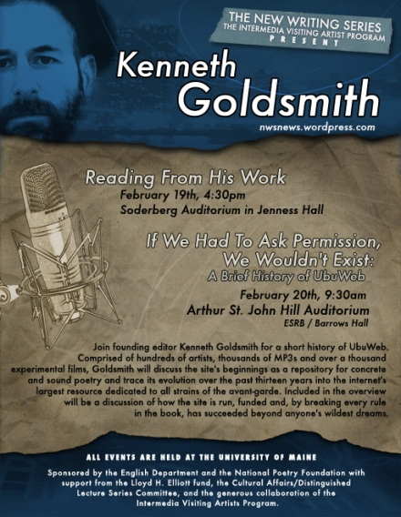Goldsmith Poster