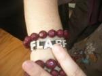 Nada Gordon's charm bracelet